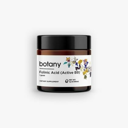 Folinic Acid (Active B9) – Powder, 1g